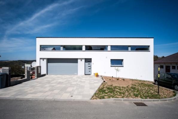 Rodinný dům, Lípa nad Dřevnicí. Zateplovací systém Baumit, omítka Baumit NanoporTop (zdroj: Baumit)