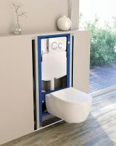 Předstěnové instalace jsou velkým trendem, lze je použít pro WC, ale i v případě bidetu, umyvadla nebo sprchy