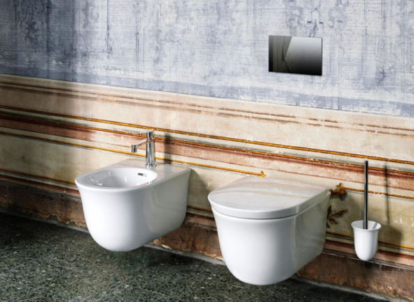 The New Classic, široká série vysoce kvalitní tenkostěnné sanitární keramiky, nábytku a dalšího vybavení značky Laufen, je inspirována jemnými liniemi baroka. Je jako stvořená pro stylovou rekonstrukci historické koupelny