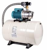 Vodárna Calpeda s nerezovým čerpadlem NGXM a tlakovou nádobou GWS pro zásobování vodou ze studní, pro domácnosti, zahrady a chalupy. Maximální schopnost sání 9 m (PUMPA.CZ)