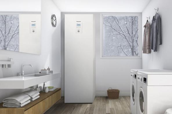 Tepelné čerpadlo Panasonic Aquarea nabízí úsporu až 80 % nákladů na vytápění v porovnání s elektrickými přímotopy