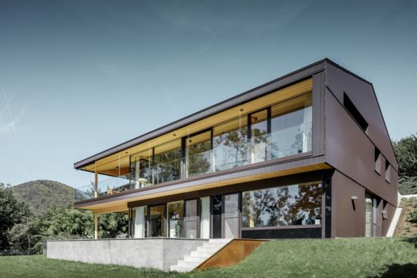 Dům W. v rakouském Linci (foto: Croce & WIR)