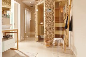 Domácí wellness je možné postavit prakticky kdekoliv. Vnovém domě i na chalupě. Potřebujete si jen vymezit prostor. Pro plnohodnotné domácí wellness centrum se doporučuje zhruba 15 m2 včetně odpočívárny (zdroj: Knauf)