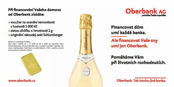 Novým partnerem Šekové knížky HELUZ se stala banka Oberbank