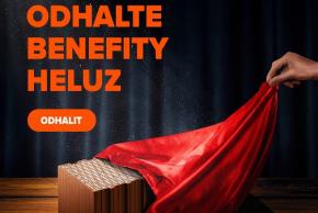 Šekovou knížku HELUZ obdrží automaticky každý, kdo si zakoupí materiály HELUZ na stavbu rodinného domu (zdroj: HELUZ)