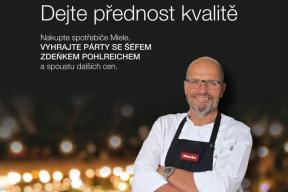 Pořiďte si nový domácí spotřebič a vyhrajte párty se Zdeňkem Pohlreichem