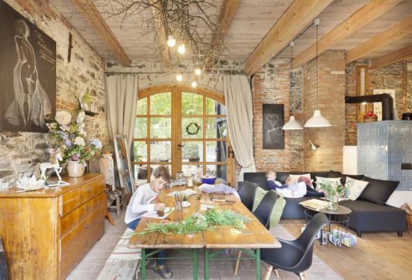 Lichtensteinská stodola