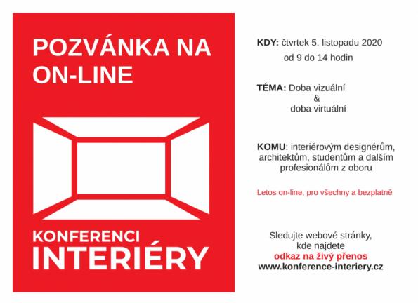 Pozvánka na 9. ročník konference Interiéry