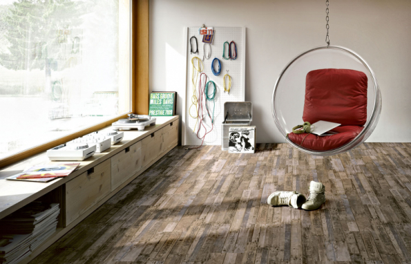 Vinylová podlaha Parador 5.0 hnědá vintage boxwood 1513567, třída zátěže 33 (komerční prostory s intenzivním používáním), vhodná pro podlahové topení (HORNBACH)