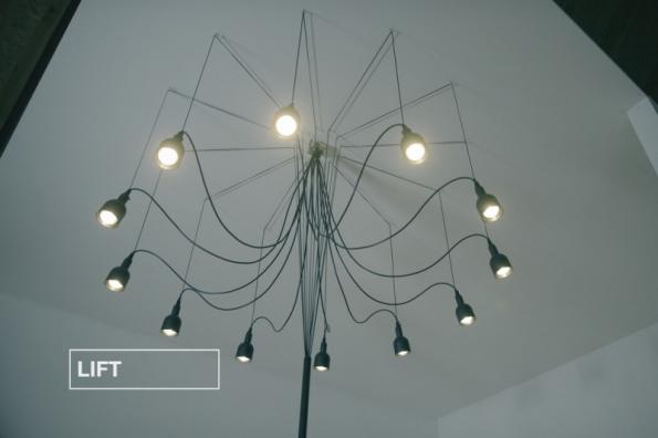 Svítidlo LIFT (zdroj: Hornbach)