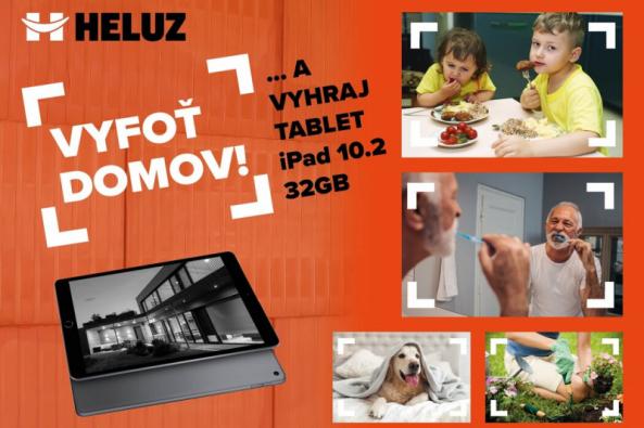 Společnost HELUZ vyhlásila tradiční fotografickou soutěž, tentokrát na téma Vyfoť domov