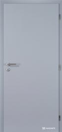 Plné hladké dveře Masonite v povrchové úpravě CPL laminát v šedé barvě