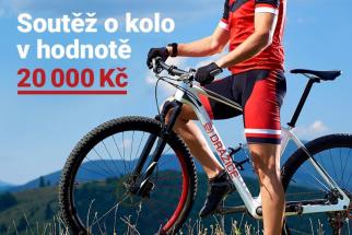 Vyhrajte cyklistické kolo v hodnotě 20 tisíc Kč (zdroj: DZ Dražice)
