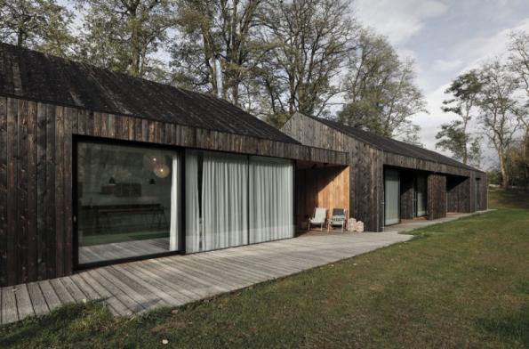 Dům ve skandinávském stylu (foto: Jan Vrabec)