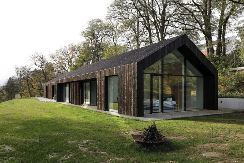 Moderní bungalov inspirovaný skandinávským stylem bydlení