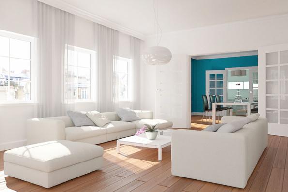 Baumit IonitColor je minerální interiérová barva zlepšující vnitřní klima tvorbou zdraví prospěšných iontů ve vzduchu, zvyšuje kvalitu vzduchu a snižuje množství prachových a pylových částic (BAUMIT)