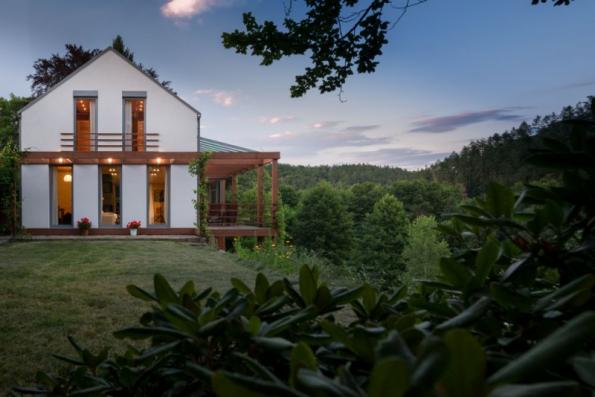 Dům ve zlatém řezu (foto: Martin Zeman)