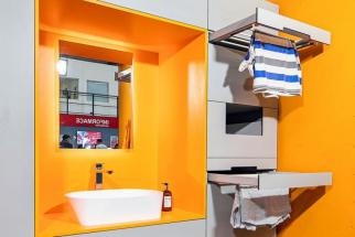 Integrované sušákyv koupelnové skříňce jednoduše nahradí klasický sušák a pomohou s dosušením vlhkého prádla