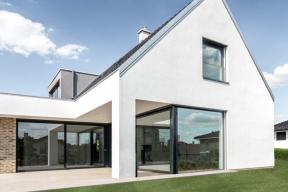 Vzorový e4 dům - Újezd u Průhonic (zdroj: Wienerberger)