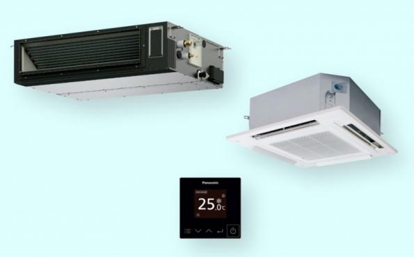 Komerční jednotky PACi NX nabízí skvělou účinnost při chlazení i vytápění a zvýšenou kvalitu vzduchu¨(zdroj: Panasonic)