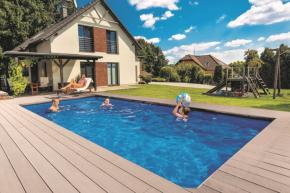 Sklokompozitní bazén Coral, typ Hit (zdroj: Mountfield)