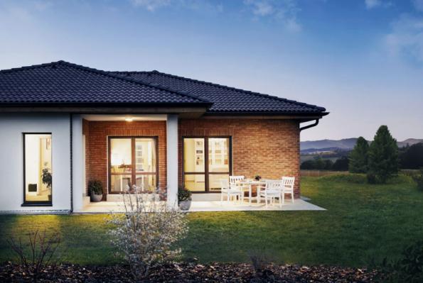 2. místo získal typový dům Bungalov se soutěžním kódem K060, dodavatelem je společnost CANABA, a.s.