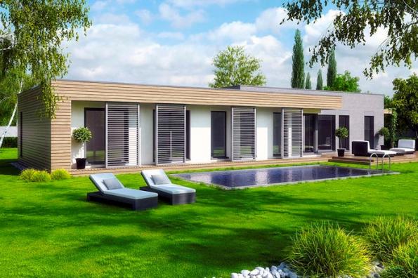 3. místo získal typový dům Premium Line Inspirace II, soutěžní kód K065, dodává společnost Haas Fertigbau Chanovice, s. r. o.
