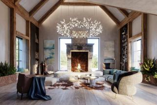 Zahrada snů. Pět designových vil v provensálském stylu umístěných do celoročně kvetoucích zahrad