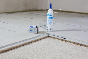 Suchá podlaha Knauf BRIO vydrží nejvíce