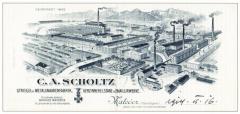Pohled na továrnu z roku 1845 (zdroj: STIEBEL ELTRON)