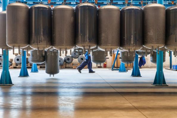 Výrobní hala (zdroj: STIEBEL ELTRON)