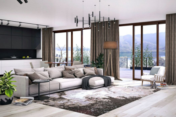 Dřevěná okna VEKRA Natura 94 vynikají elegantním vzhledem s maximálním zateplením a v interiéru vytvářejí útulnou atmosféru