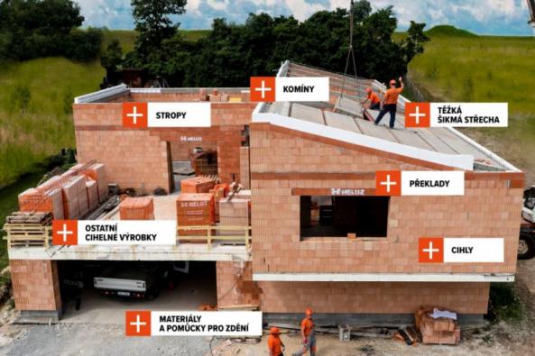 HELUZ - kompletní systém pro stavbu domu