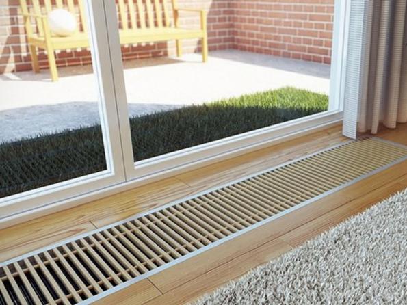 Podlahový konvektor KORAFLEX (zdroj: KORADO)