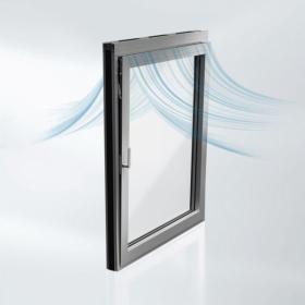 Nové protihlukové okno Schüco AWS 90 AC.SI umožňuje dosáhnout ve sklopené poloze zvukové izolace až 31 dB