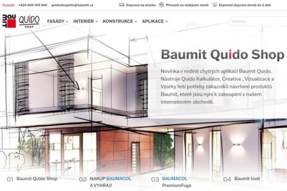 Baumit Quido Shop