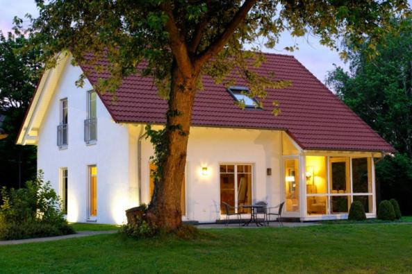 Dům s okny z VEKA profilů třídy A