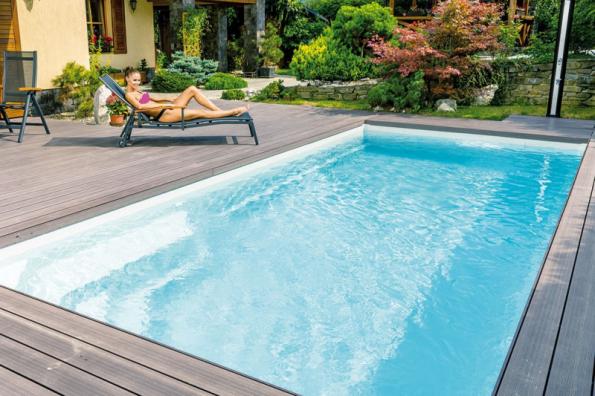 Bazén z řady Compact, model Diamant