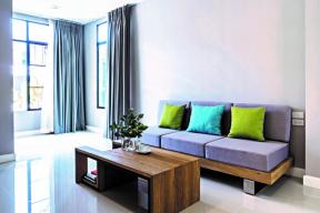 Finální realizace podlahy obývacího pokoje – podklad dlažby