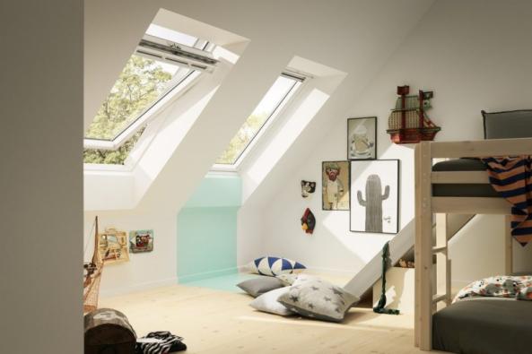 Střešní okno VELUX GGL (zdroj: VELUX)