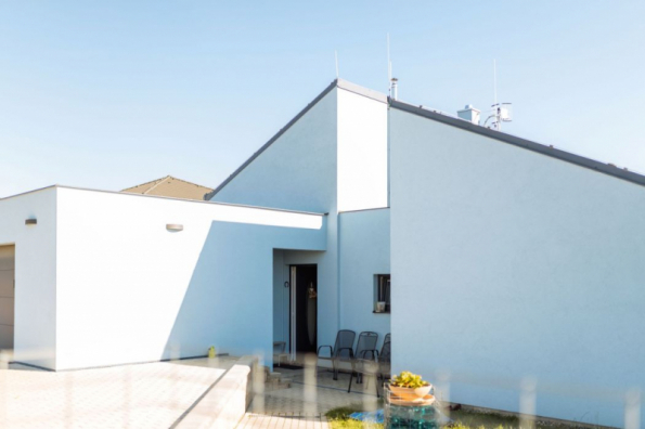 Rodinný dům v Odoleně Vodě (zdroj: Xella)
