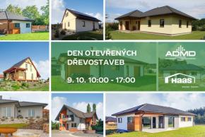 Den otevřených dřevostaveb: Haas Fertigbau otevírá 10 domů po celé ČR
