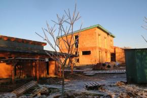 Rodinný dům Myslkovice - průběh stavby (zdroj: HELUZ)